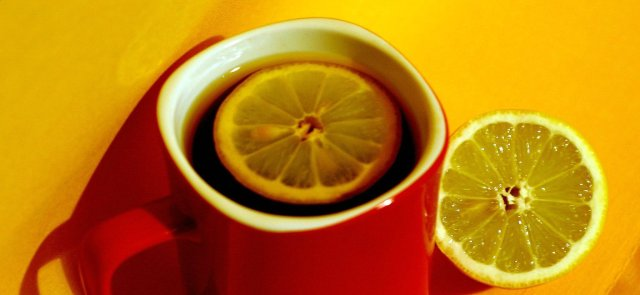 A cuppa tea will help you deal with stress!