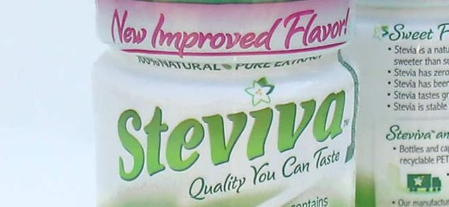 Stevia – naturalny słodzik alternatywą dla aspartamu