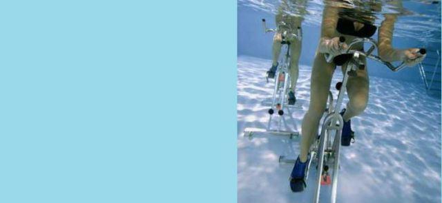 Hydrofit - rower w basenie