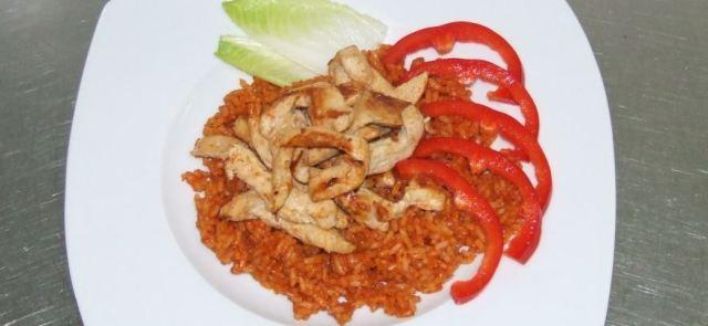 Ryż po turecku z kurczakiem