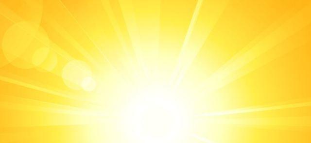 Odchudzająca moc słońca