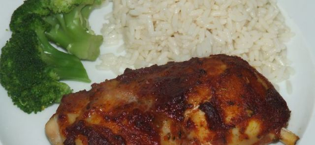 Udka z kurczaka w pikantnej marynacie