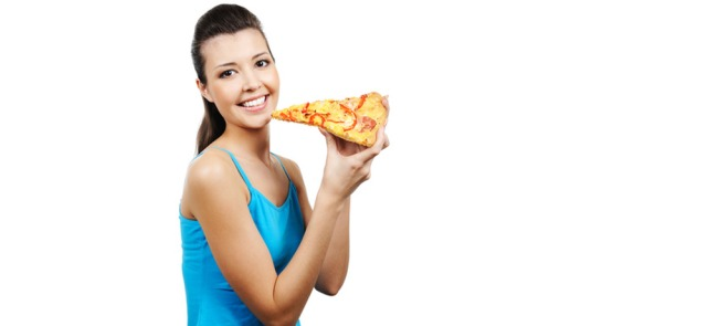 Dietetic, nourishing pizza available in supermarkets?