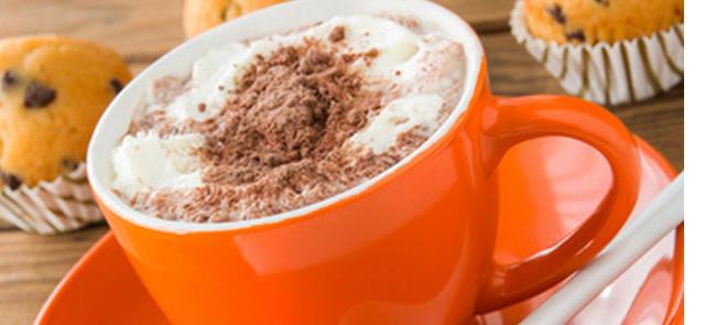 Gorąca czekolada smakuje najlepiej gdy…