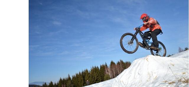 Na rower zimą?