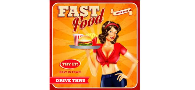 Fast foody czynią cię leniwym!