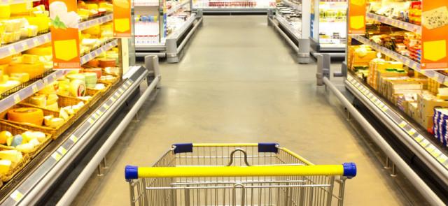 Polak w supermarkecie czyli jak kupujemy żywność