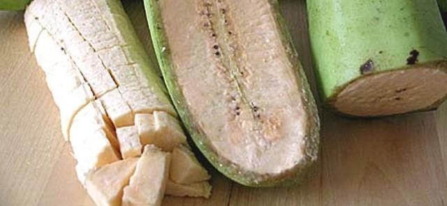 Platany – warzywne banany