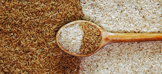 Which kind of rice is better – white or brown?