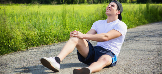 Ból kolana podczas biegania
