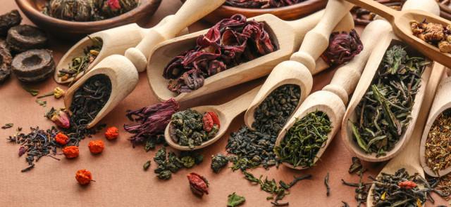 Herbaty - rodzaje i właściwości