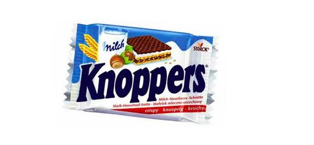 Knoppers - idealny o wpół do dziesiątej rano