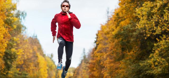 Bieg w terenie jesienią - bezpiecznie i przyjemnie