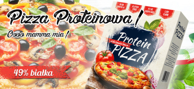 Pizza proteinowa ALLNUTRITION