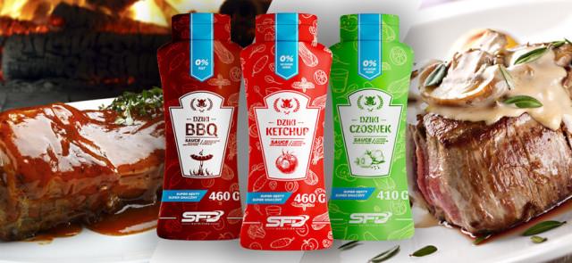 Wybieraj sosy dietetyczne: czosnkowy, bbc, ketchup