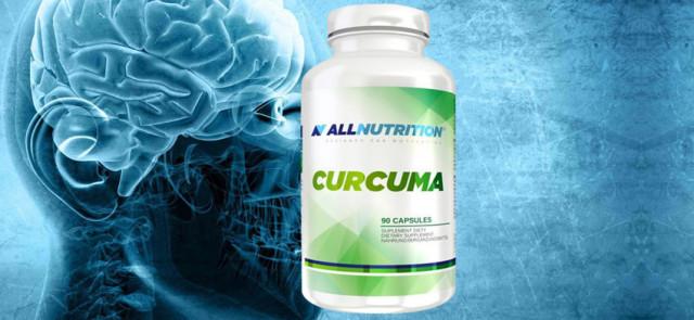 Kurkuma pozytywnie wpływa na kondycje mózgu