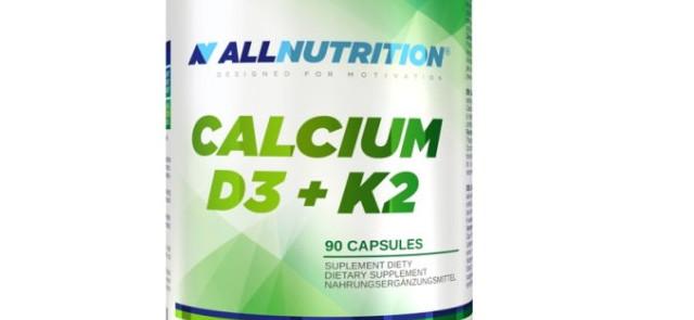 ALLNUTRITION Calcium D3 K2 - Poprawia siłę mięśni i stawów