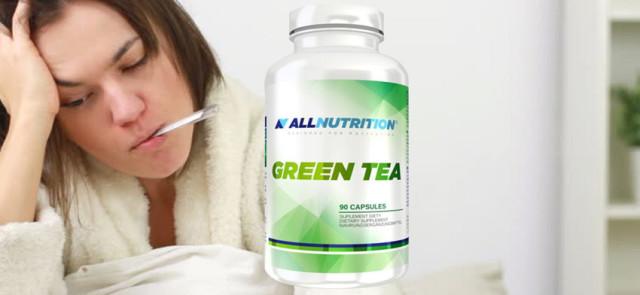 Zielona herbata zwalcza infekcje