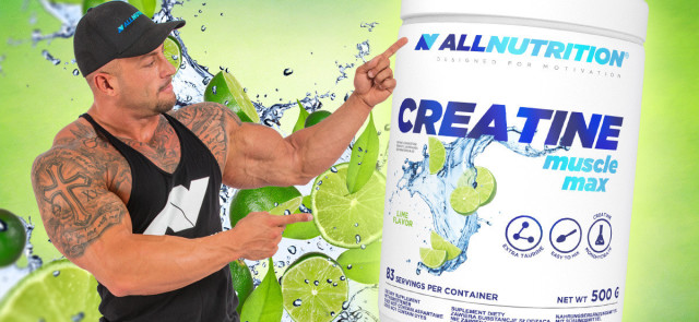 Najmocniejszy suplement diety - Creatine Muscle Max