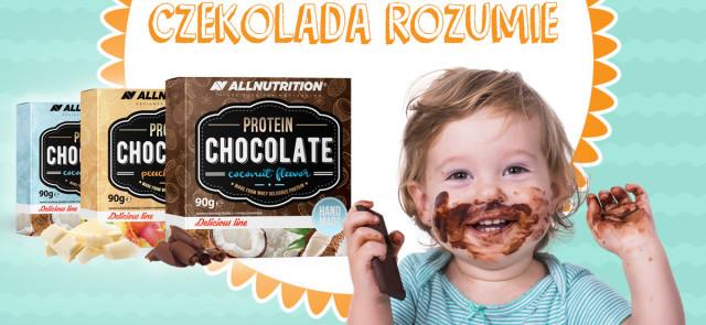 Czekolada nie pyta, czekolada rozumie...