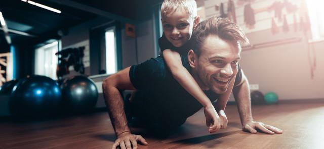 6 porad treningowych dla tatusiów