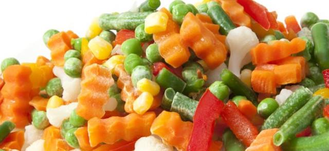 Mity żywieniowe: Mit 7 - Mrożone i puszkowane warzywa są bezwartościowe