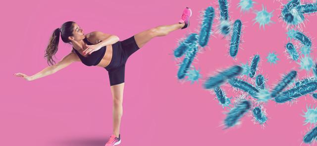 Czy dieta, trening i suplementy mogą wspomóc w walce z wirusem?