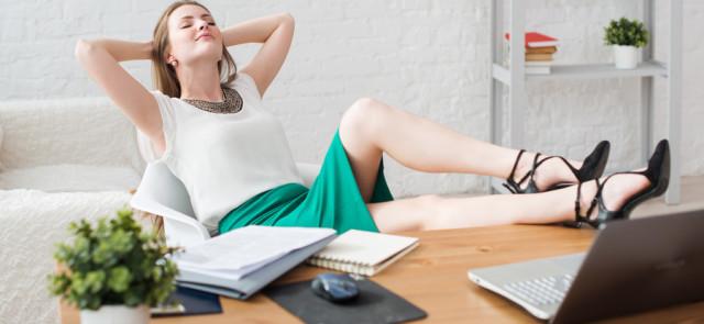 Ludzie pracujący wdomu prowadzą mniej zdrowy styl życia