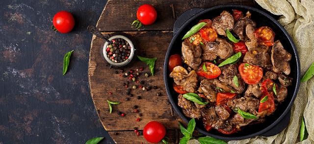 Pięć powodów, dla których warto jeść wątróbkę