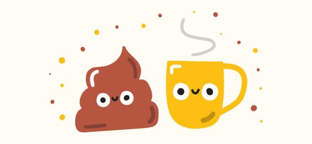 Kupa po kawie - dlaczego po kawie chce się nam kupę?