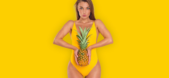 Ananas i jego zalety dla kobiecego organizmu