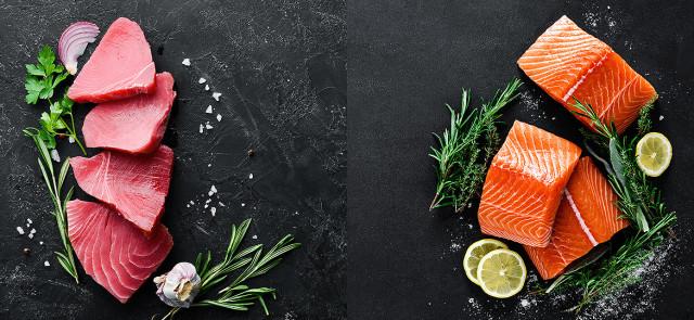 Tuńczyk i łosoś - czy któraś ryba jest zdrowsza?