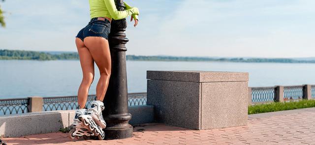 Jazda na rolkach odchudza lepiej niż bieganie
