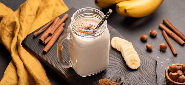 Napój na bazie banana i cynamonu - naturalny sposób na dobry sen?