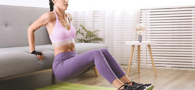 Trening z ciężarem własnego ciała dla początkujących kobiet