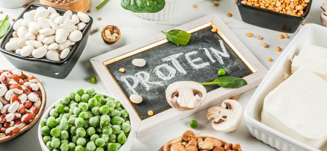 Białko na diecie wegańskiej