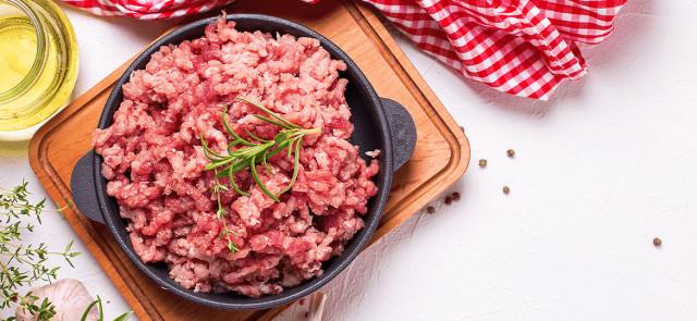 Mielone mięso w zdrowej diecie - tak czy nie?