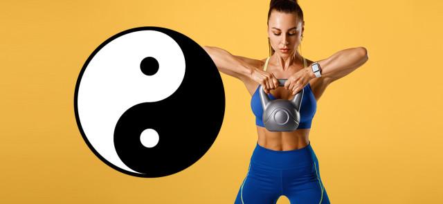 Zrównoważony trening w stylu Yin i Yang