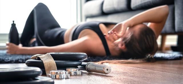 Jak zmniejszyć uczucie zmęczenia po treningu?