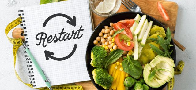 Restart – sposób na przełamanie stagnacji w diecie odchudzającej