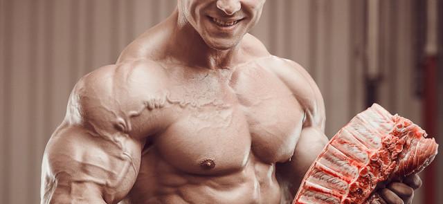 Jedz tłuszcz i buduj mięśnie!
