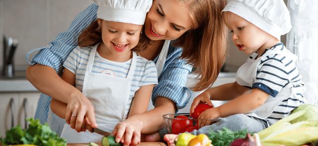 Daj przykład swoim dzieciom - jedz zdrowo!