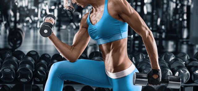 Budowanie mięśni u kobiet - trening na 5 dni