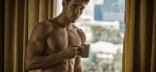 Kawa zamiast porcji przedtreningówki