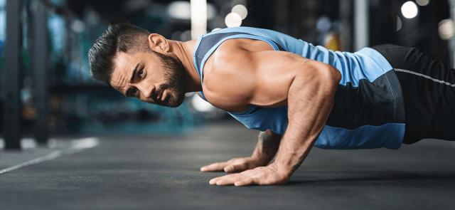 Siła i masa z ciężarem własnego ciała. Część II - pompki
