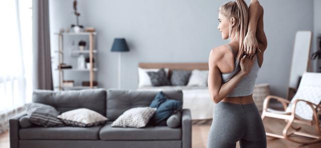 Domowy trening dla kobiet - na co zwrócić uwagę?